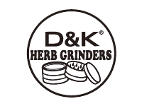 D&K herb grinders logo